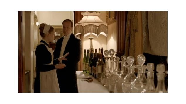Decanters in Downtown Abbey