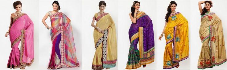 silk-sarees #Indian #Silk #Sarees  http://www.jabongworld.com/blog/indian-silk-sarees-a-new-ethnic-fashion-statement/