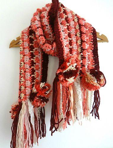1422 besten Crochet Scarf Bilder auf Pinterest   Schals, Abenteuer ...