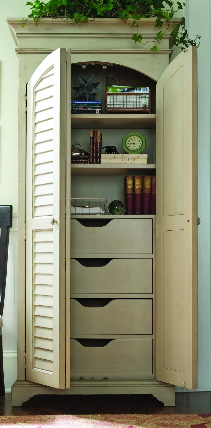 Paula Deen Home Utility Cabinet In Sea Oat For The Office