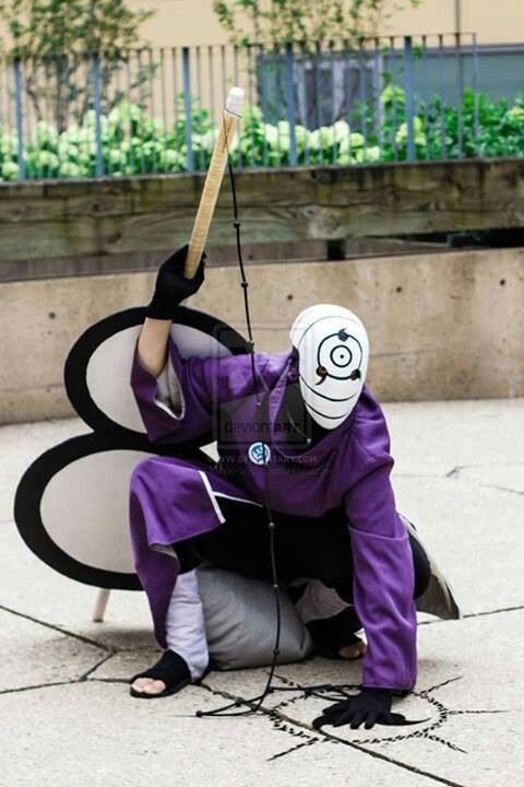 Tobi or Obito Uchiha (Naruto) #cosplay