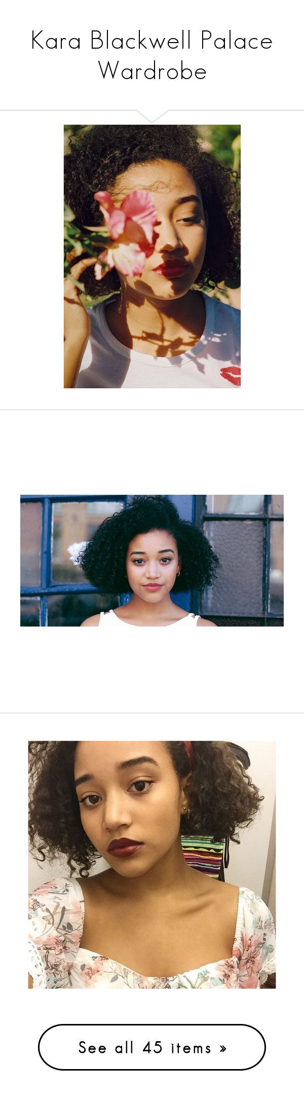 """""""Kara Blackwell Palace Wardrobe"""" by hz24601 ❤ liked on Polyvore featuring amandla stenberg, pictures, backgrounds, models, photos, dresses, vestidos, short dress, yellow print and nautical dresses"""