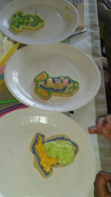Cookie decorating game