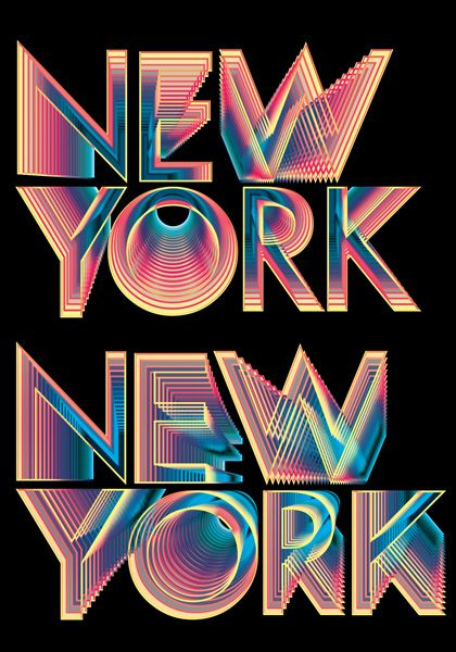 Now You're In New York. Graphic Designer: Andy Gilmore.