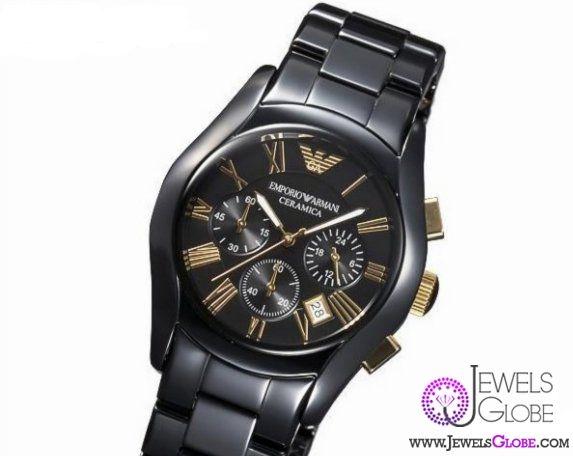 new original armani ceramic watch for men