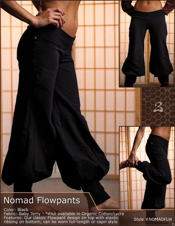 Nomadic/ Middle Eastern/ Romani/ airship pirate pants too bad they don't come in different colors
