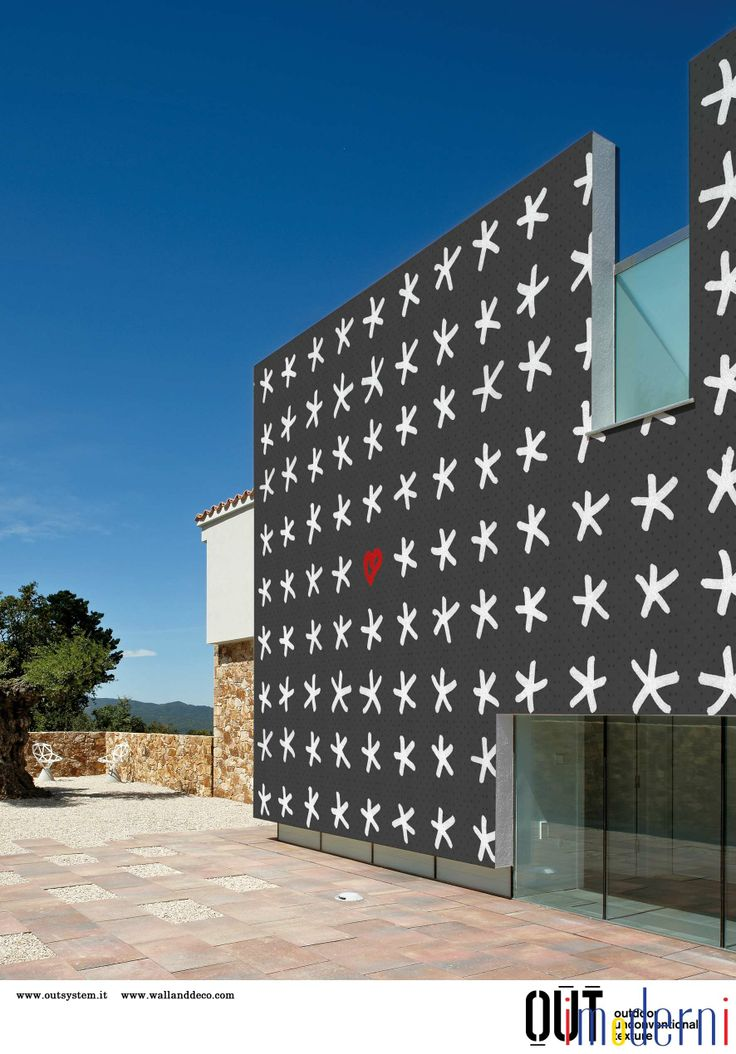 Italian Home Decor Company Wall Has Recently Come Out With A Fabulous  Collection Of Exterior Wallpaper