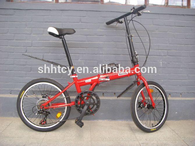 """16 """"rojo 6 velocidad bicicleta plegable/bicycle/ciclo de venta caliente SH-FD026"""