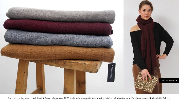 Ben je op zoek naar de perfecte sjaal? Shop bij ons heerlijke sjaals, zowel zomersjaals als wintersjaals. Een sjaal draag je namelijk het hele jaar door!