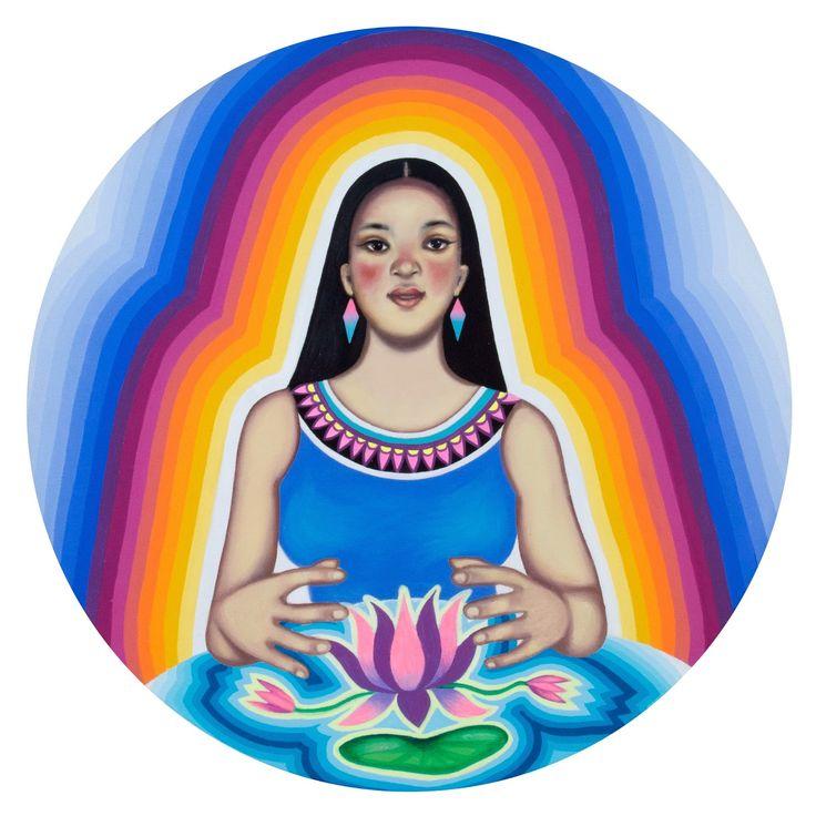 Paula Duró: pintura / Sacred Geometry <3