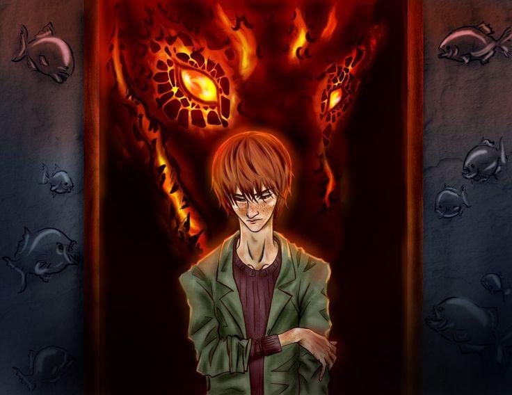 """Он был дракон, он был красный — сказочный человек из другой жизни, потому что просто так, ни с того ни с сего в пираньих семьях не появляются грустные люди с умными глазами, о которых рассказывают небылицы.Македонский. """"Он был дракон"""" by Sofia Shuchila."""