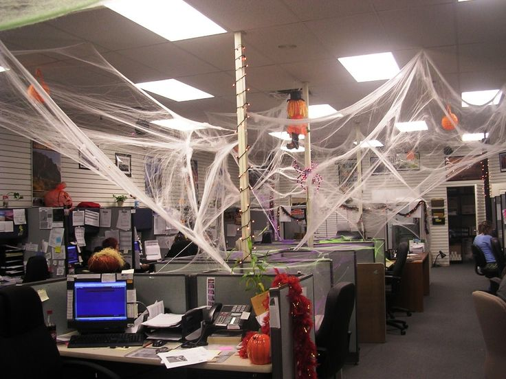 17 Best Ideas About Halloween Office Decorations On