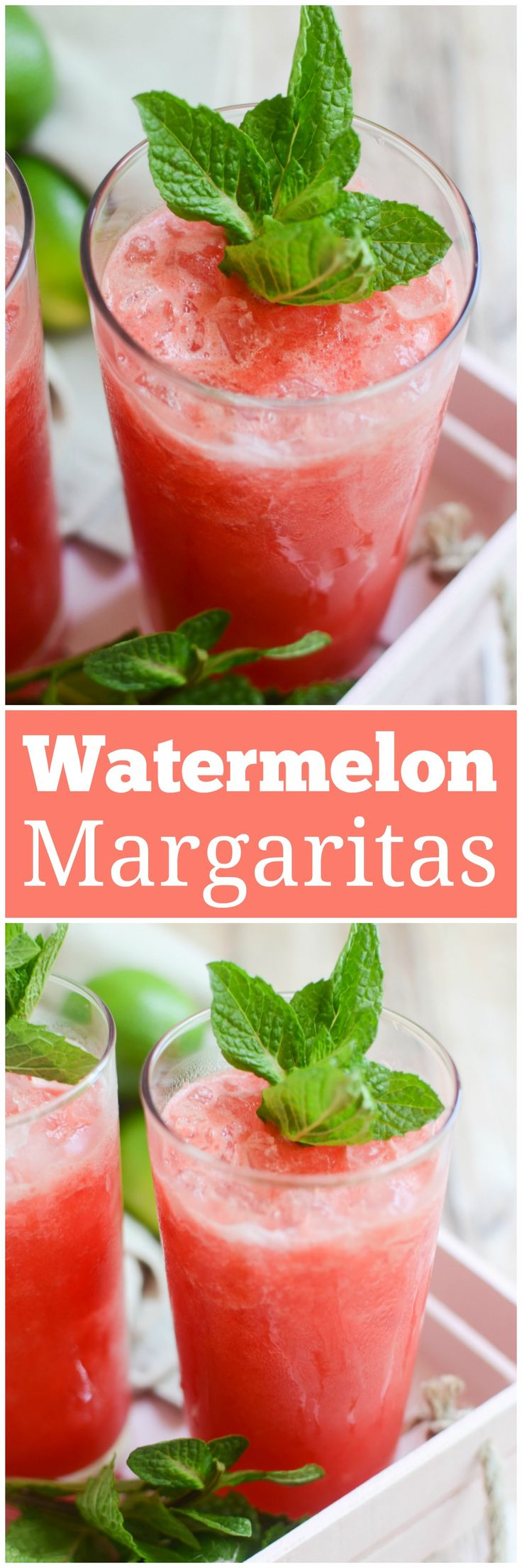 Jun 6, 2020 – Watermelon Mint Margaritas – the most refreshing summer cocktail! Fresh watrmelon is blended with tequila,…