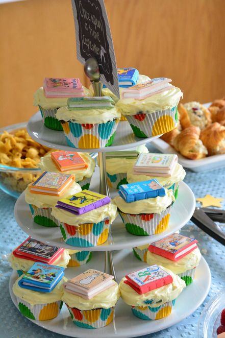 Build a Library Baby Shower - Rachael's BookNook