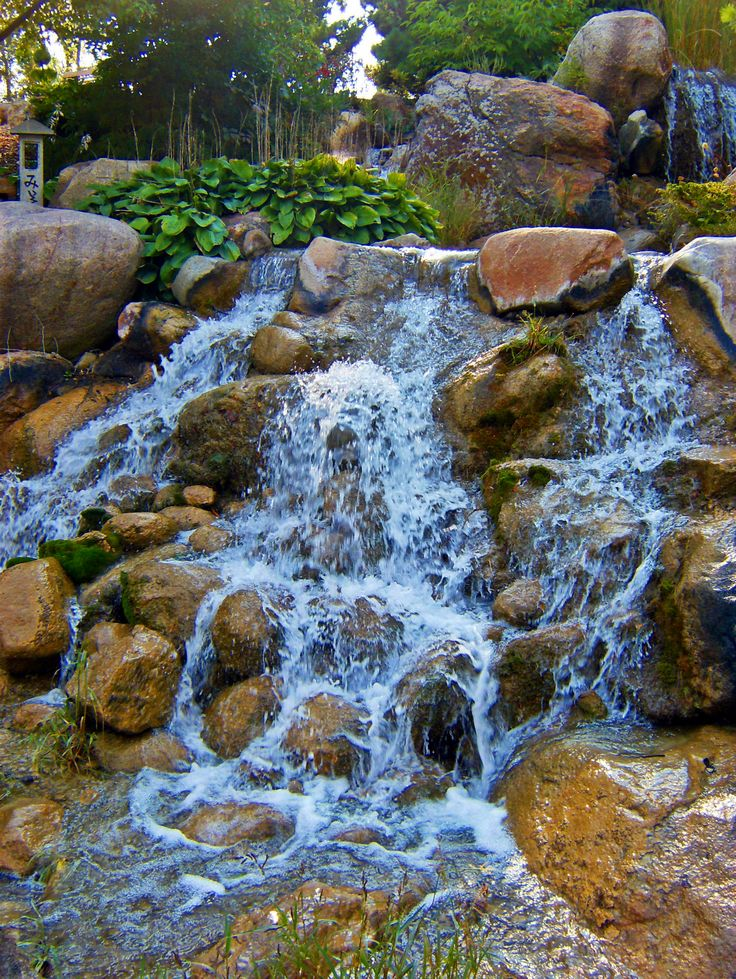 FileWaterfall At Japanese Water Garden