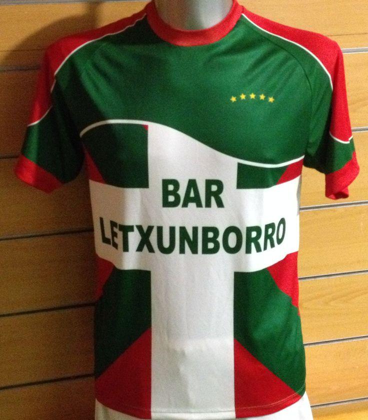 Equipación equipo fútbol 8 Bar Letxunborro Irún  #atugusto #futbol #easosport