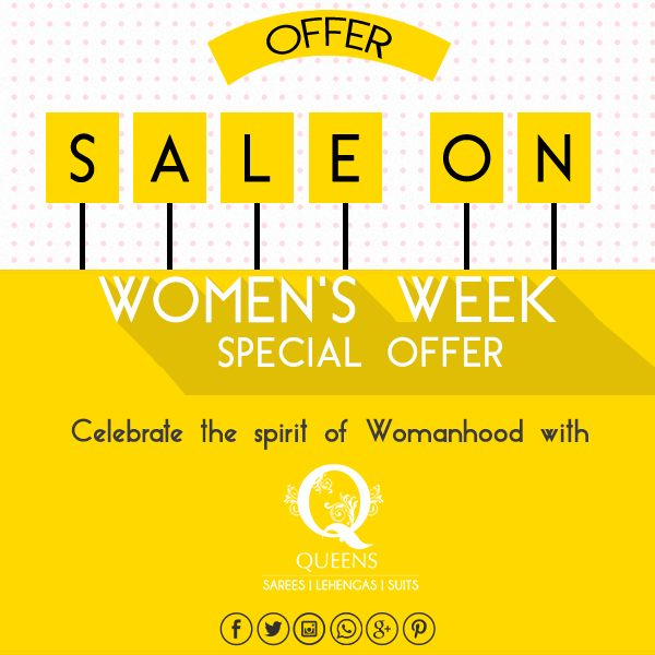 Guess what ! Our women's week sale just got extended. Walk in to our Marine Lines Store today! Hurry!  #QueensEmporium #WomensWeek #Sale