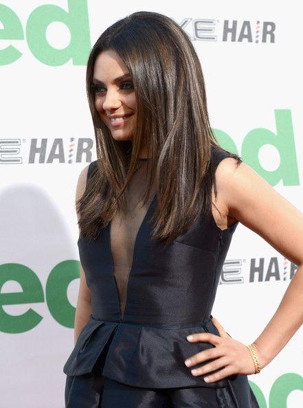 Mila Kunis Beautiful Hair Cuts And Styles Pinterest