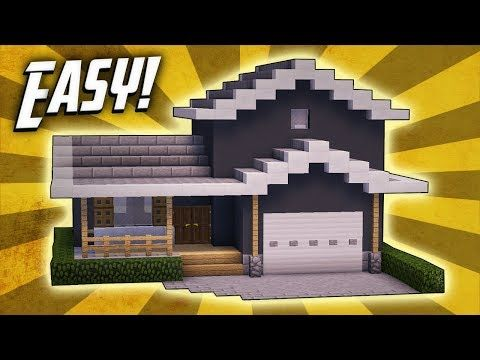 Minecraft: How To Build A Suburban House Tutorial (#2) - Minecraft Servers View