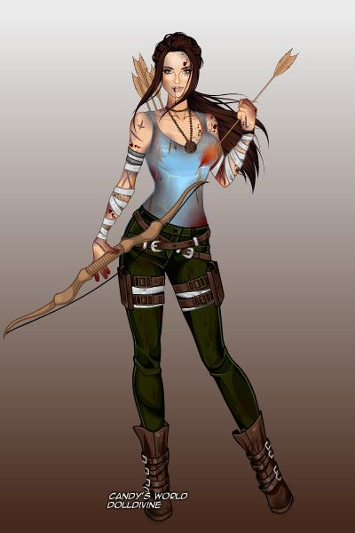 Lara Croft Tomb Raider By Screamfor Created Using The X Girl