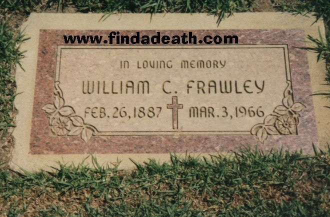 Vivian Vance Grave Trivia Frawley Was A Drunk Apparently