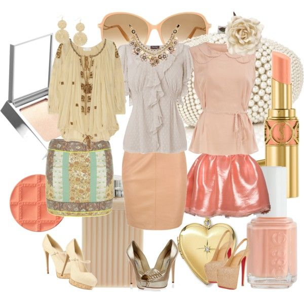 Colour Analysis- Light Spring, Light Spring Looks, created by jenmariecolor on Polyvore