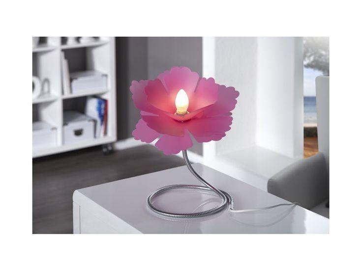 Lampa Stołowa Florcita różowa — Lampy stołowe Invicta Interior — sfmeble.pl