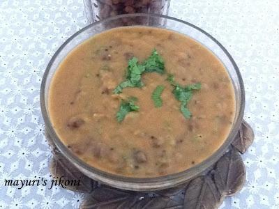 chickpea curry (chana nu shaak)
