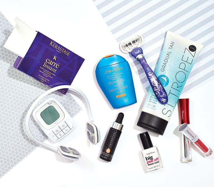 From the best faux tan to hair-smoothing sheets to a face-toning gadget that fights sagging skin, here are the year's smartest innovative products.