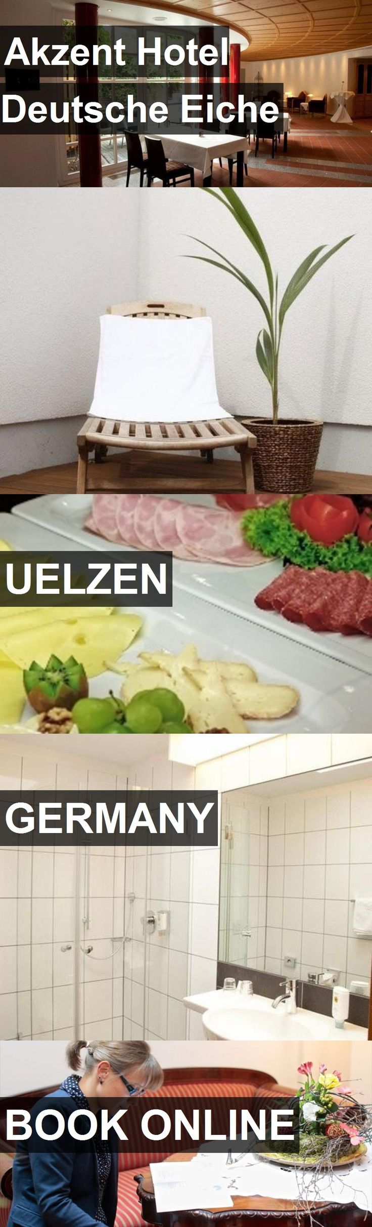 Hotel Akzent Hotel Deutsche Eiche in Uelzen, Germany. For more information, photos, reviews and best prices please follow the link. #Germany #Uelzen #AkzentHotelDeutscheEiche #hotel #travel #vacation