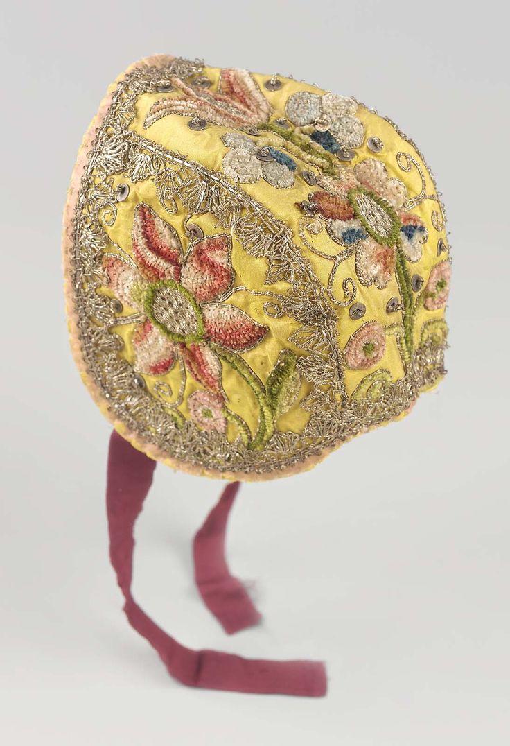 Infant's cap, 18th century, French or Italian, Museum of Fine Arts, Boston