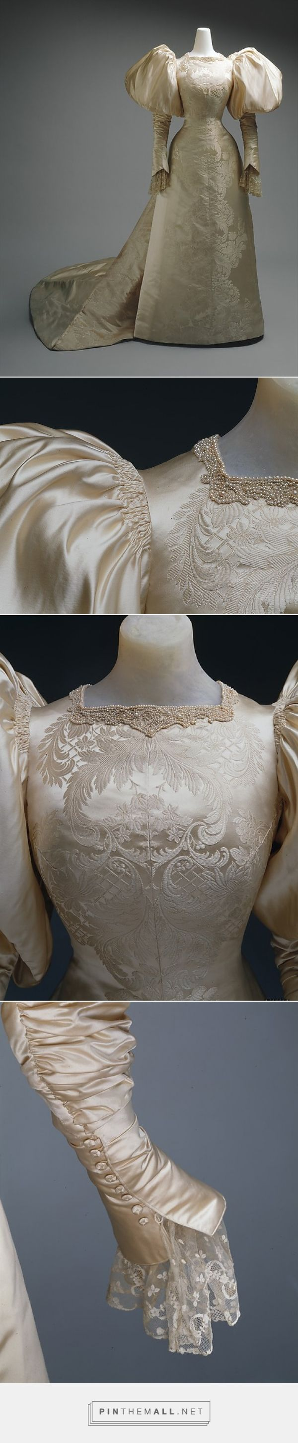 Wedding dress by House of Worth 1896 French | The Metropolitan Museum of Art