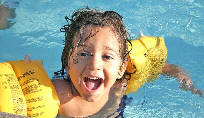 20 best swimming pool tips and articles images on for Manguitos piscina