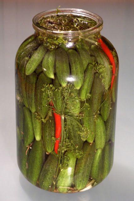 relaxotour: Sós uborka - eredeti orosz recept