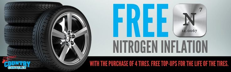 Free Nitrogen Inflation with Tire Purchase