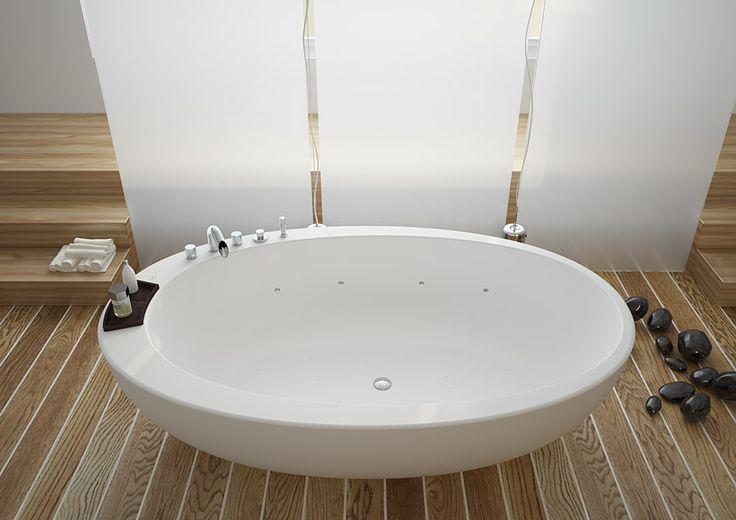 ELITECNICH Bathtub with AIRPOOL System