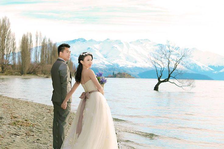 Beautiful couple with beautiful landscape of #wedding #photography - JIS
