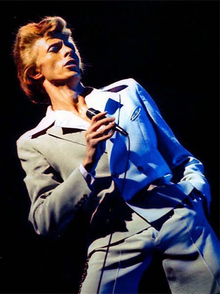 1974 USA David Live Suit - David Bowie Photos