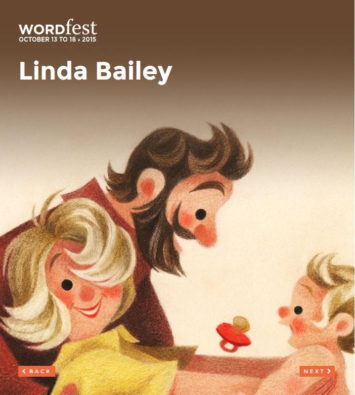 Presented at Wordfest Youth 2015: ENGLISH - GRADE K-6; Linda Bailey has written more than 20 books for children in a number of different genres, including the best-selling Stanley-the-dog series, The Farm Team, the Stevie Diamond Mysteries, the Good Times Travel Agency series, and most recently, Toads on Toast. See more http://wordfest.com/artists/youth-authors/linda-bailey?cid=7