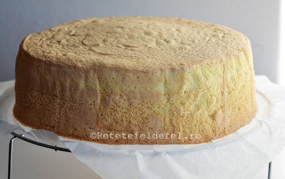BLAT DE TORT CU AMIDON | Rețete Fel de Fel