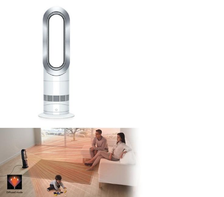Space Heaters 20613: Brand New Dyson Am09 Hot Andcool Air Conditioner Fan Jet Focus--Silver -> BUY IT NOW ONLY: $369.99 on eBay!