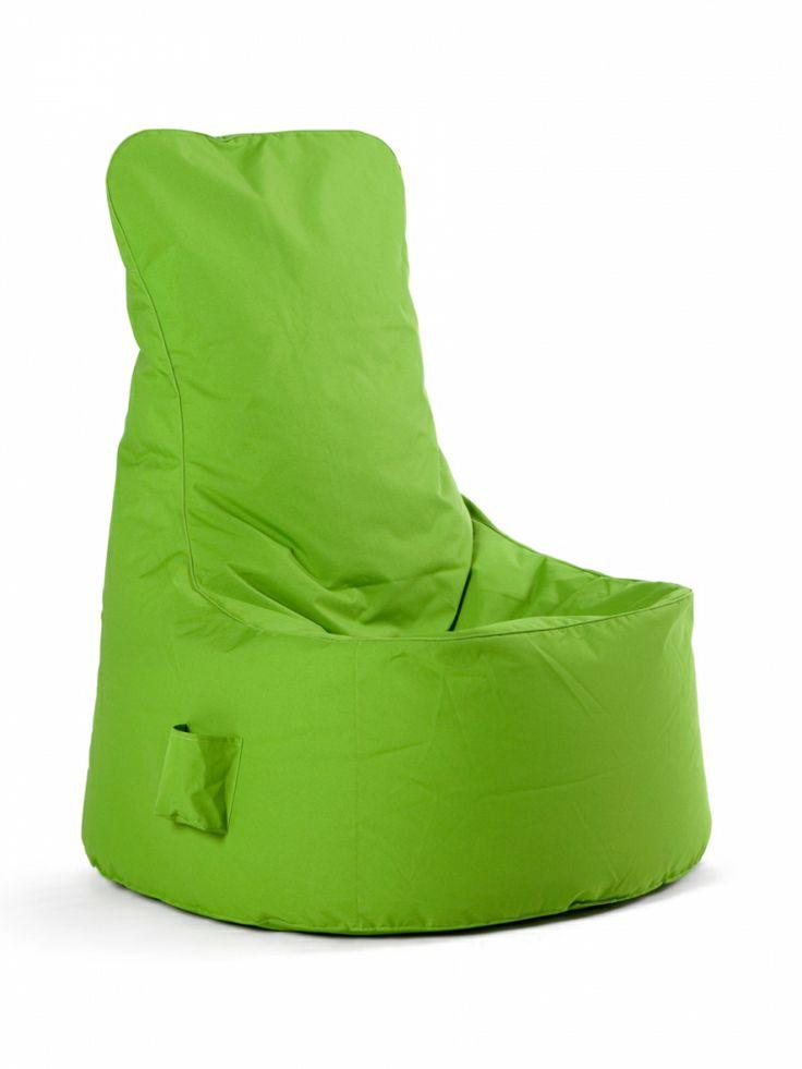 soft seating by SITTING BULL Chill Seat Sitzsack grün 200L für die Loungeecke