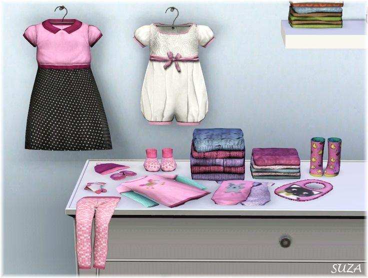 My Sims 3 Blog: Infant Clutter Set by Suza http://www.simplystyling.de/Sims3/homesims3.html