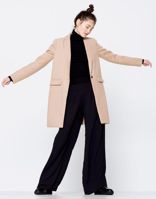 Tissu pour manteau femme