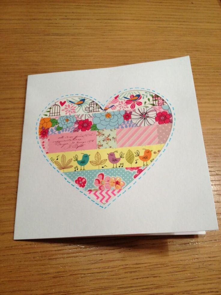 ... )  Masking tape love  Pinterest  Valentines, Washi tape and Medium