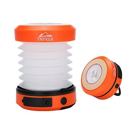 Solar Camping Lantern  Solar  USB Rechargeable Lantern  Collapsible Flashlight for Emergency Situation  Orange -- Be sure to check out this awesome product.Note:It is affiliate link to Amazon. #us