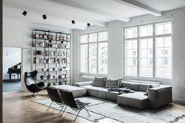Loft Apartment + Studio by Annabell Kutucu | The Design Chaser | Bloglovin'