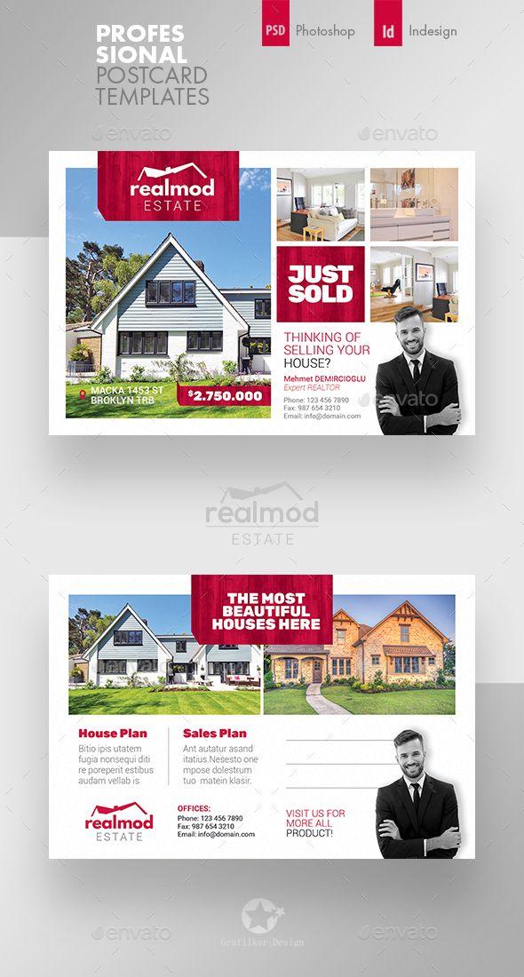 Real Estate Postcard Templates Real Estate Postcards Postcard Template Real Estate Marketing Design
