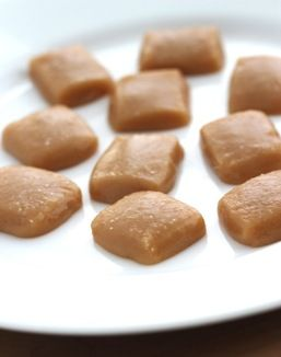Microwave Salted Caramels - ready in 6 minutes.