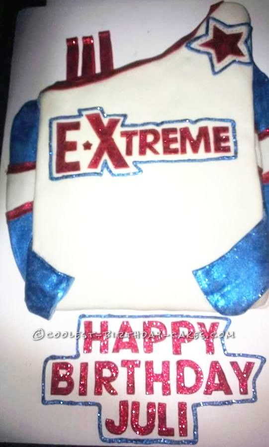 Coolest Cheerleading Birthday Cake... This website is the Pinterest of birthday cake ideas